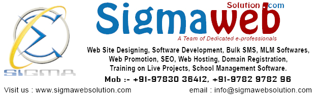 Sigma Web Solution